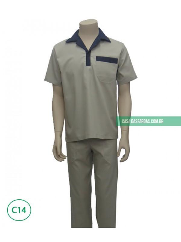 Conjunto calça/camisa cedropolo