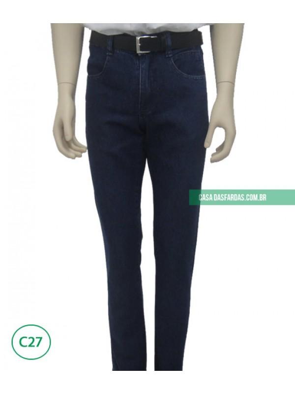 Calça jeans básica