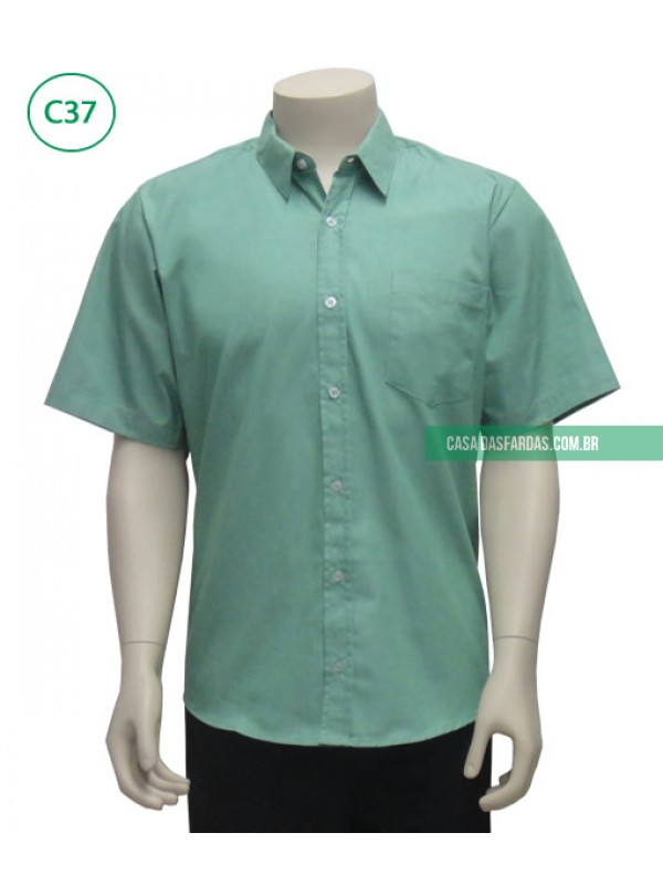 Camisa mescla mg curta