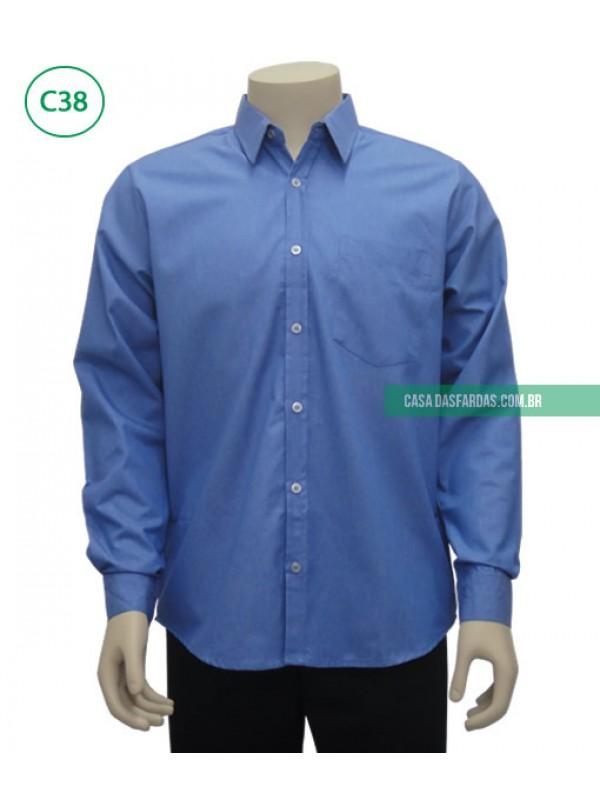 Camisa mescla mg longa
