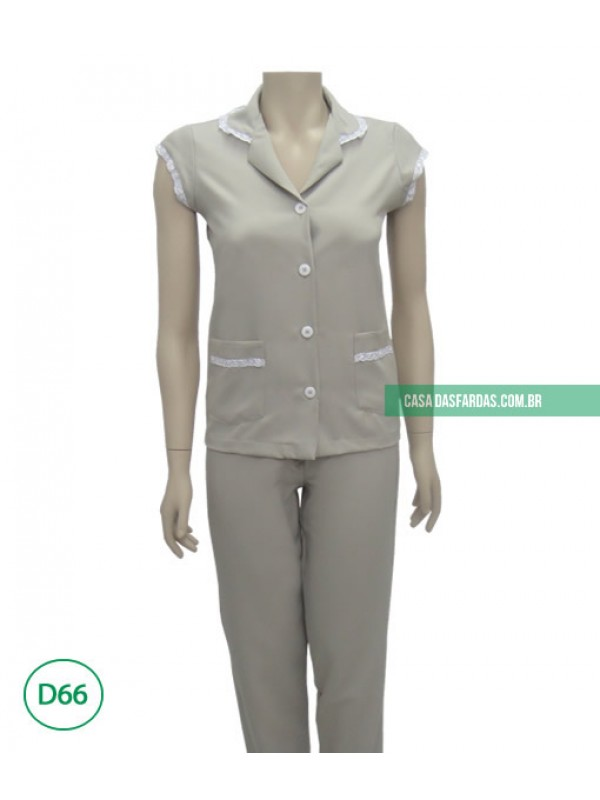 Conjunto calça/jaleco bi-stretch mg japonesa