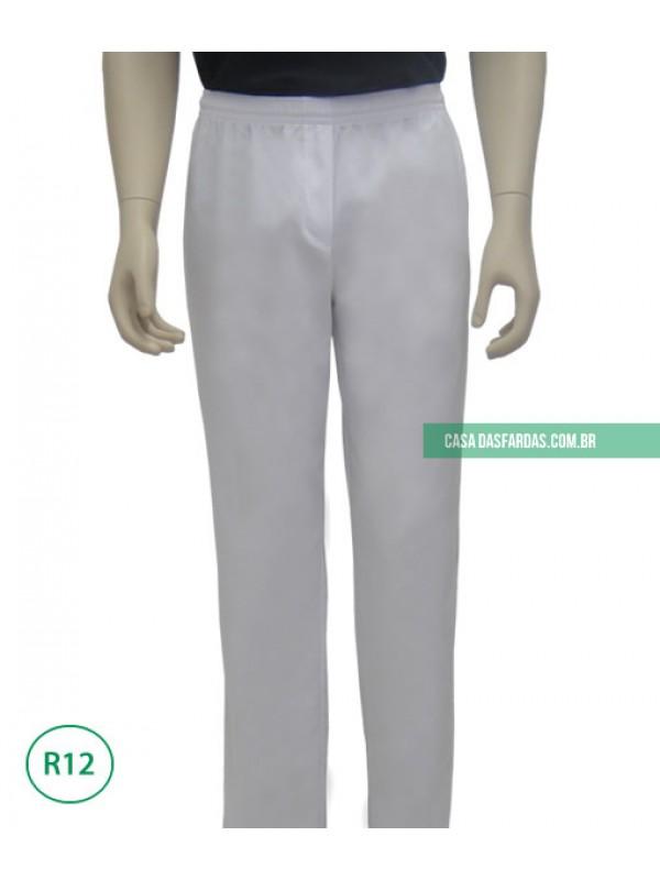Calça básica com elastano