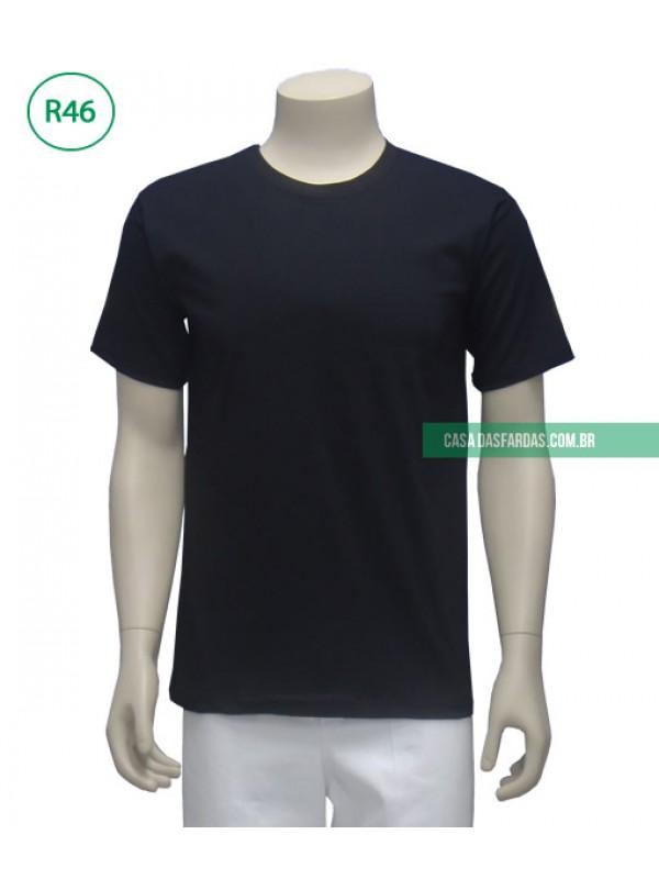 Camiseta malha preta