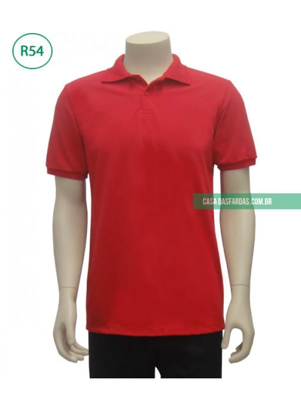 Camisa polo masculina piquet