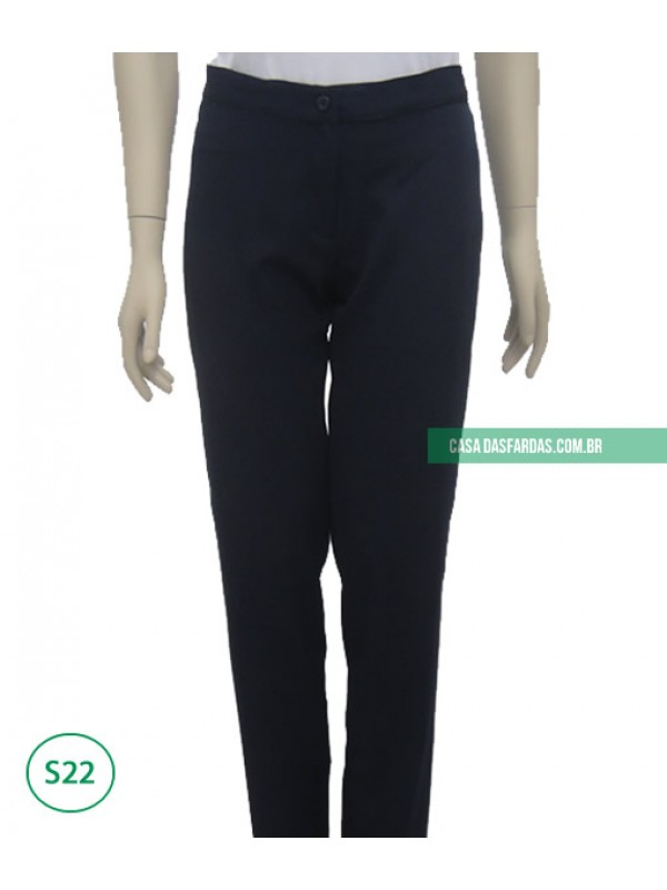 Calça sem bolso bi-elastic