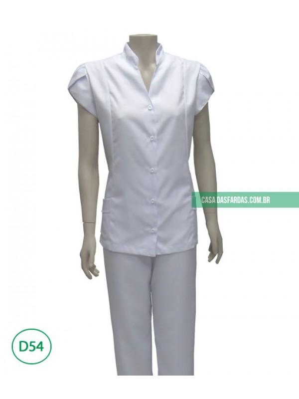 Conjunto calça/jaleco microfibra mg folha