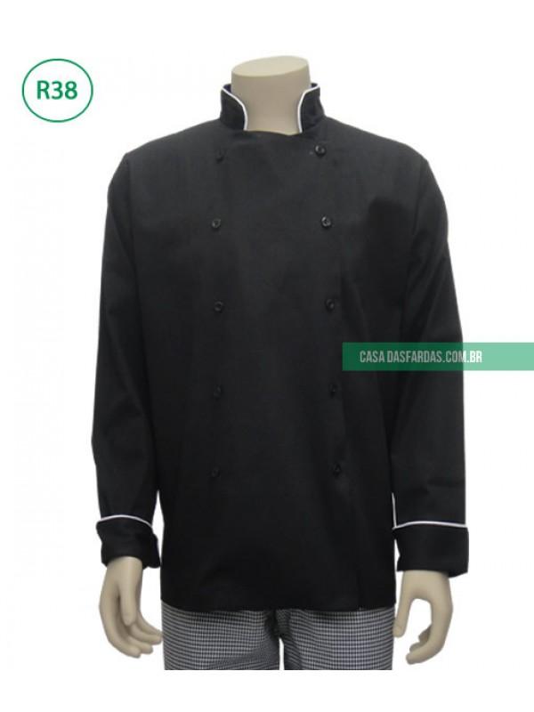 Dolman cozinheiro com friso
