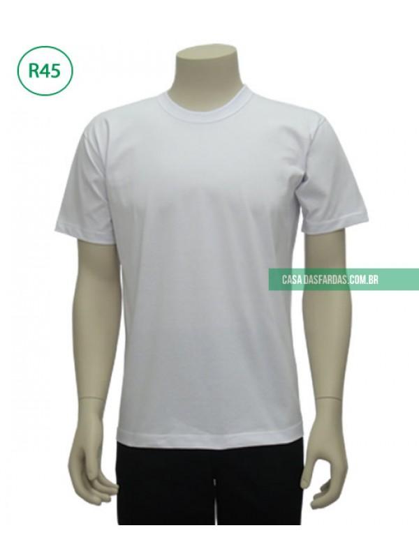 Camiseta malha branca