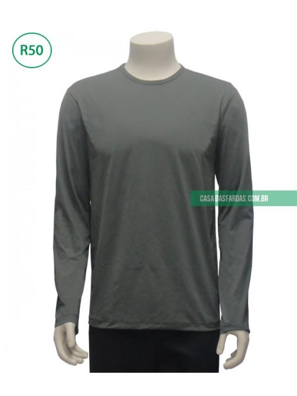 Camisa mg longa malha UV