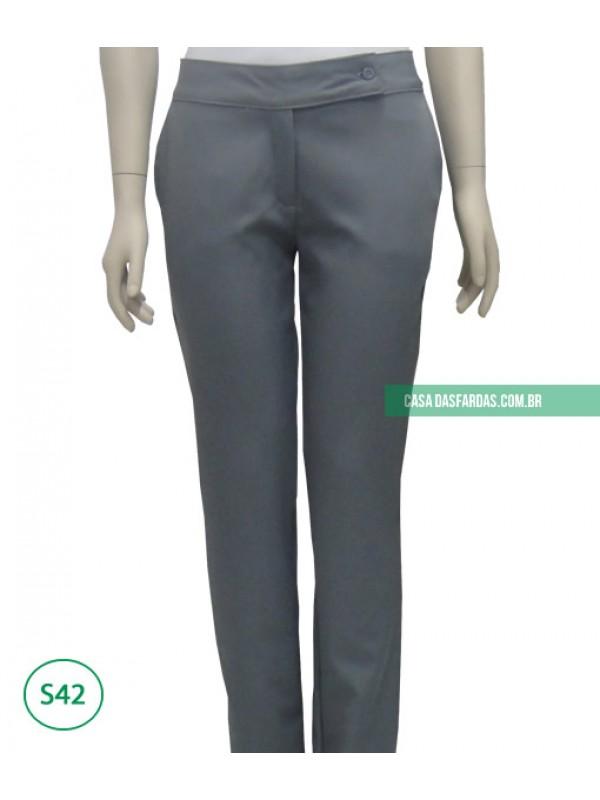 Calça com bolso bi-elastic